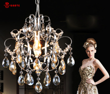 2017 Luxury Crystal Chandelier Corrido Room Lamp lustres de cristal indoor Lights Crystal Pendants For Chandeliers Free shipping