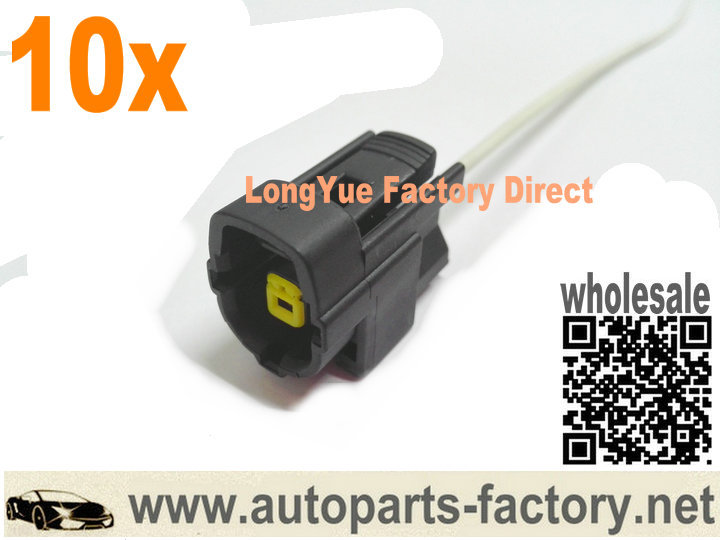 popular ford wiring harnesses buy cheap ford wiring harnesses lots longyue 10pcs 1 way engine oil level sensor connector wiring harness 8 accessories for ford