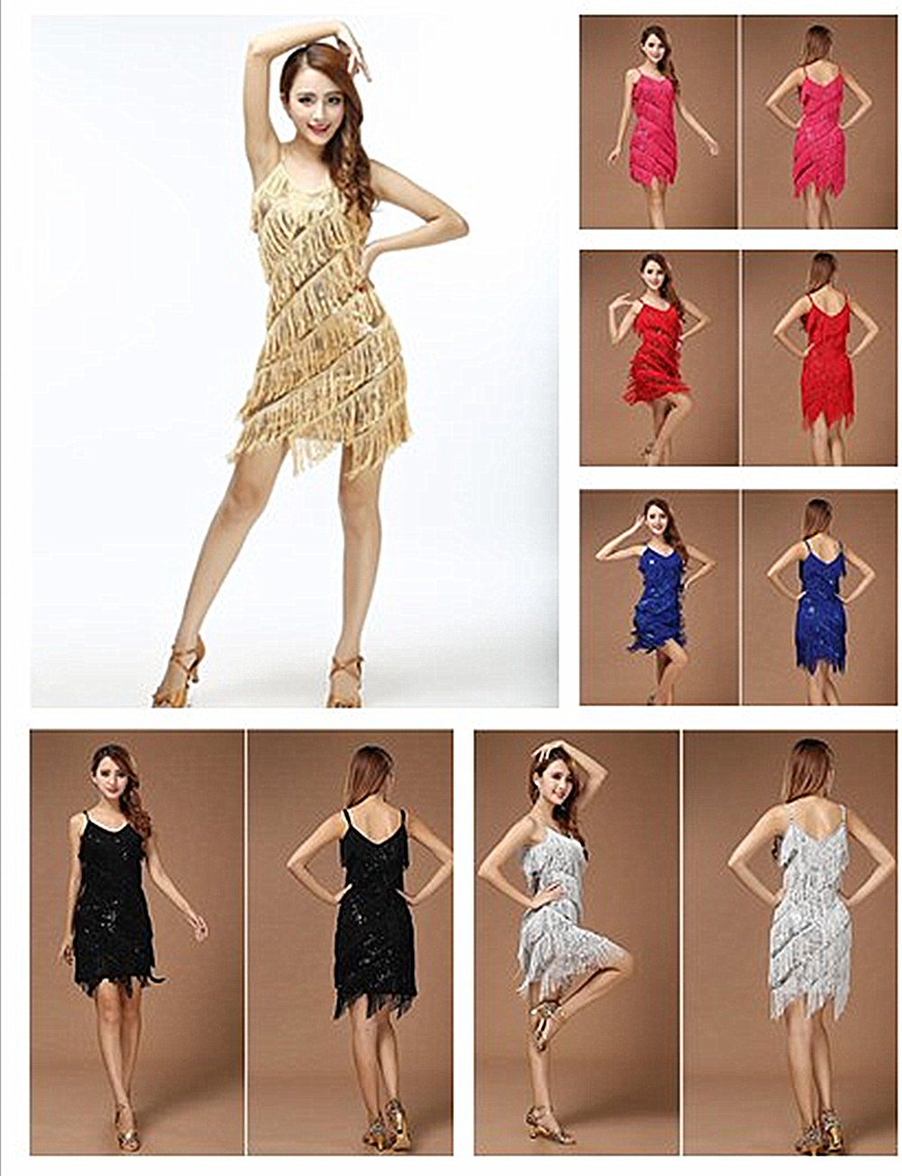 Popular Vintage Fringe Dress-Buy Cheap Vintage Fringe Dress lots ...