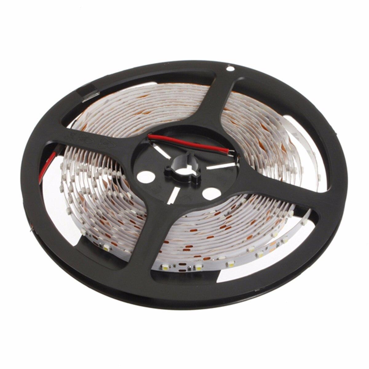 Mising 5M LED Strip 3528 Fiexible Light 60Led/m 300Led DC 12V Cool White LED Ribbon Lights Christmas Non-Waterproof