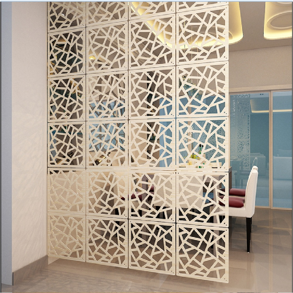 Hollow Out Hanging Screen Modular Screen Folding Porch Partition Decoration Door  Curtain Wall Stickers In The Background 10009 In Screens U0026 Room Dividers ...