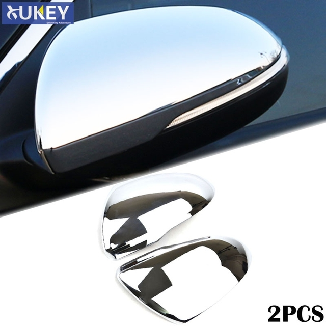 For Kia Optima K5 Jf 2019 2016 Chrome Side Mirror Rear View Cover Protector Trim