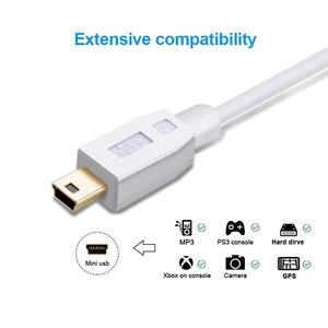 Image 2 - Mini USB naar USB C Kabel, USB C naar Mini B Cord voor GoPro Hero 3 +, PS3 Controller & Mini B Apparaten