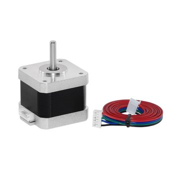цена на 17HS4401 4-lead Nema 17 Stepper Motor 42 Motor 42BYGH 1.5A with DuPont line 1m Wire CE CNC Laser and 3D Printer Motor
