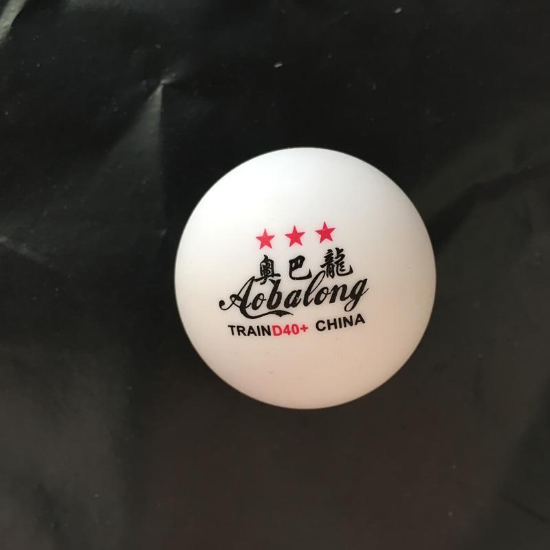 50 Pcs 3-Star 40mm 3g Tennis De Table Balles de Ping-pong Balle Blanc Orange Pingpong Balle Amateur Avancée Formation balle