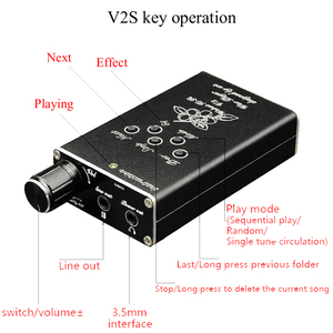 Image 2 - Reproductor de música MP3 HiFi portátil, versión nueva, Walnut V2S MP3, profesional sin pérdidas, G3 002