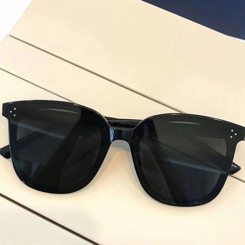 2019 GEntle Fashion Women Colour Luxury Flat Top Cat Eye Sunglasses Elegant oculos de sol men