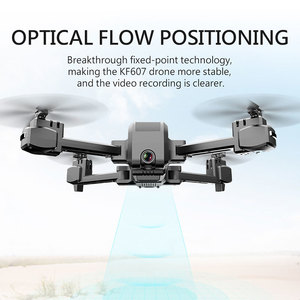 Image 3 - KF607 WIFI FPV RC Foldable Drone 4K Camera Ultra HD Dual Camera Drone Headless Mode One touch Landing Quadcopter Kids Gifts