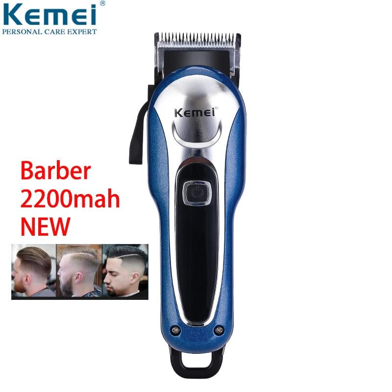 Kemei Barber Powerful Hair Clipper LED Professional Hair Trimmer For Men Electric Cutter Hair Cutting Machine Haircut Salon Tool