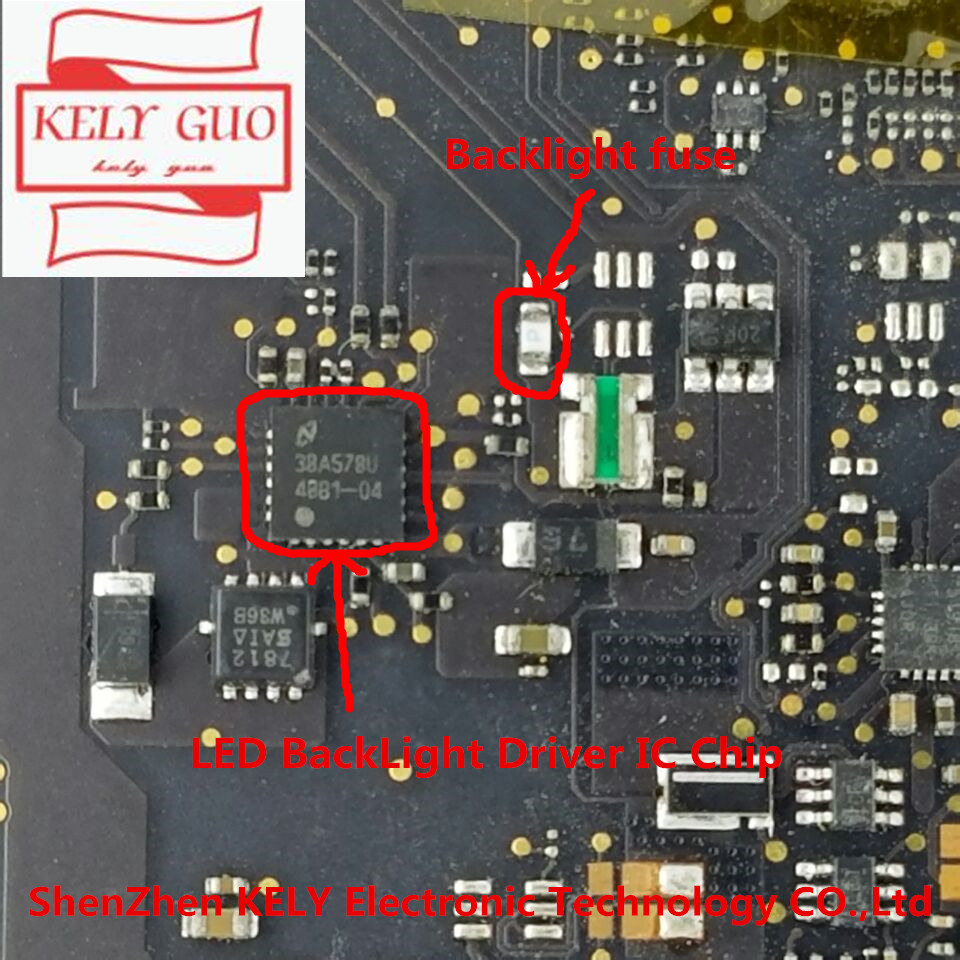 20PCS/LOT Original new LED BackLight IC Chip for Macbook Pro 13