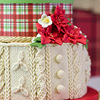 3D Knitting Texture Silicone Mold Christmas Cake Border Fondant Molds Dry Pace Cake Decorating Tools Chocolate