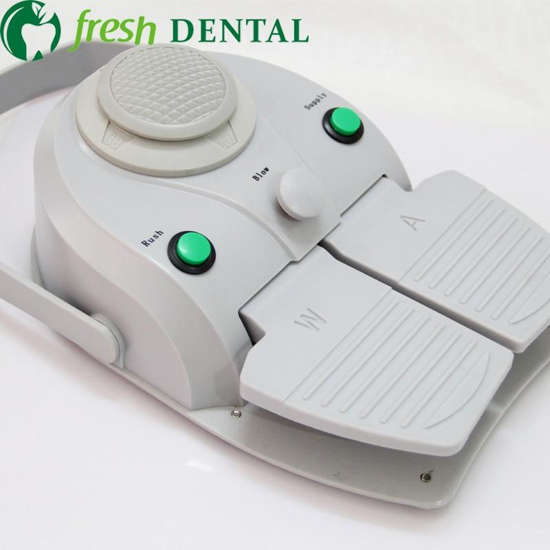 1x Dental Foot Controller apparats dental chair circle foot switch luxury multifunctional pedal foot switch 4 holes SL1102 недорго, оригинальная цена