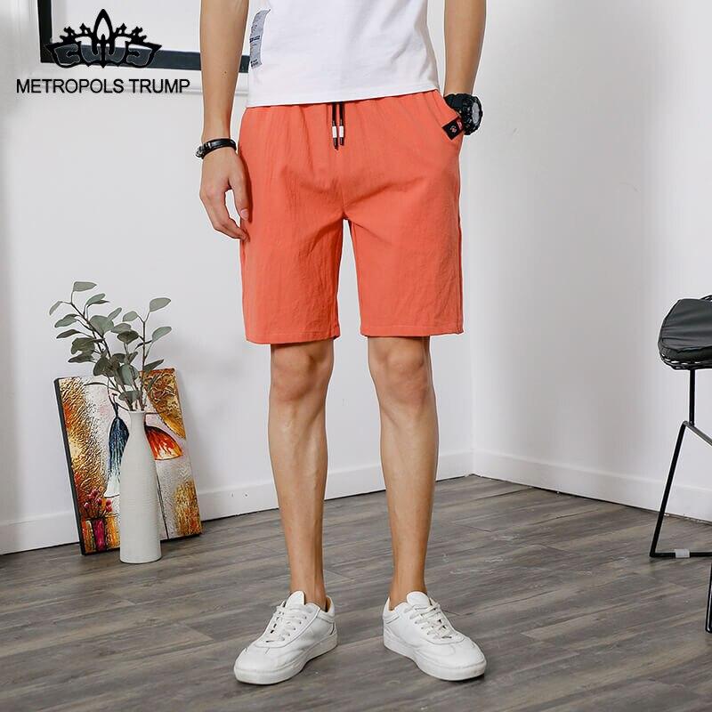 Shorts Men Casual Bermuda Masculina Brand Solid High Quality Compression Male Cargo Shorts Men Fashion Summer Men Khaki Short