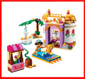 2016 New Arrivals BELA Building Blocks Princess Dream Jasmine's Exotic Palace Girl Baby toys Compatible Legoe 41061