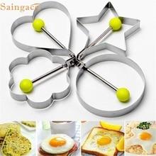 Saingace прекрасный питомец нержавеющая сталь жареное яйцо шейпер форма для блинов плесень кухня инструменты для приготовления пищи sep926
