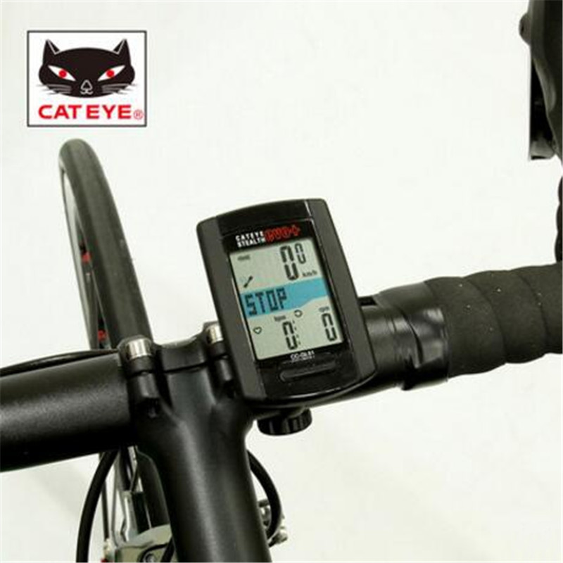 CATEYE CC-GL51 wireless bike luminous waterproof GPS ANT+ heart rate table cadence bicycle computer basic/full