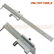 0 200Mm Markering Schuifmaat Met Carbide Kraspen Naald Parallelle Markering Gauging Heerser Meetinstrument Tool