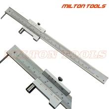 Calibro a corsoio per marcatura 0 200mm con ago in metallo duro Scriber marcatura parallela strumento di misura per righello di misurazione