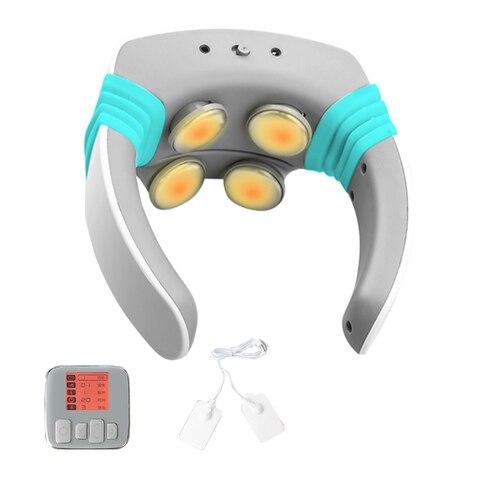 massageador acupuntura alivio dor dezenas terapia magnetica massagem eletrica relaxamento remendo portatil estimulador muscular pescoco