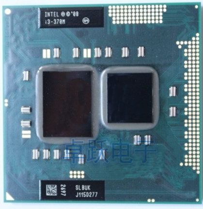 Original Intel core I3 370M 3M Cache 2.4 GHz Laptop Notebook Cpu Processor