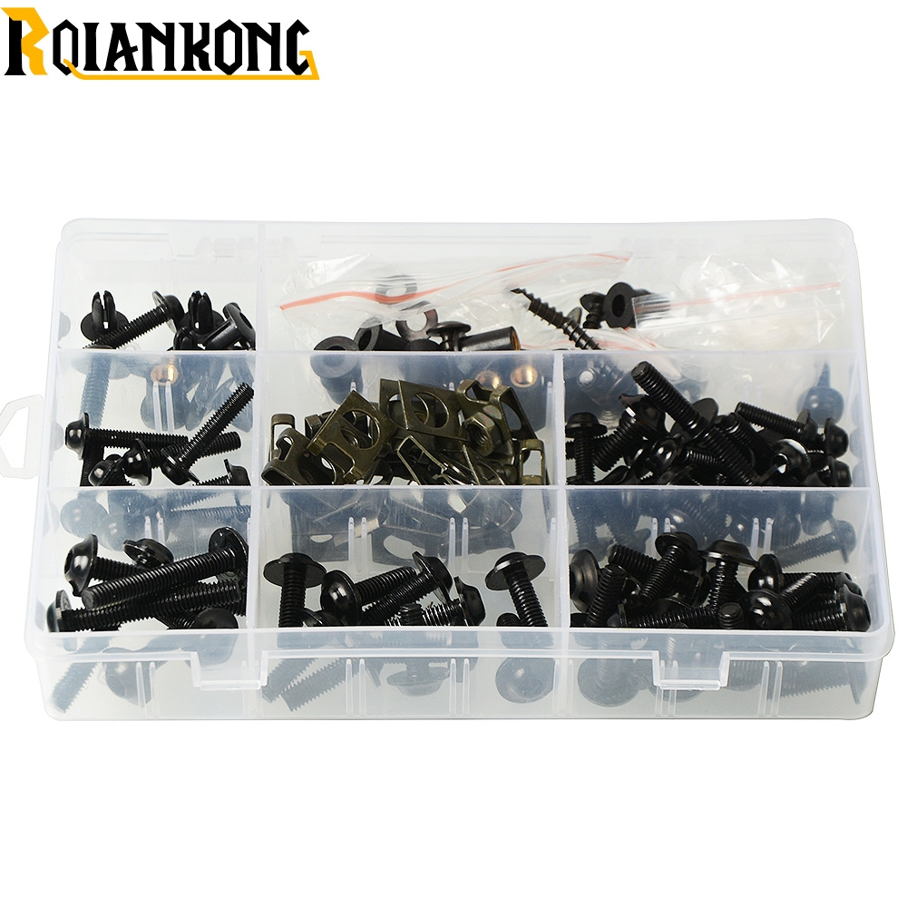 Motorcycle accesorios para moto Full Fairing <font><b>Kit</b></font> <font><b>Body</b></font> Work Bolts Nuts Screws for <font><b>Yamaha</b></font> YZF R1/R125/R15/R1M/R25/R3/<font><b>R6</b></font> image