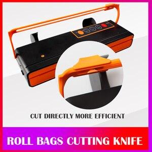 Image 4 - WOMSI Vacuum Packing Machine Mini Automatic Food Vacuum Sealer Own Cutting Knife Bag Slot Vacuum Packer Including 10Pcs Bags