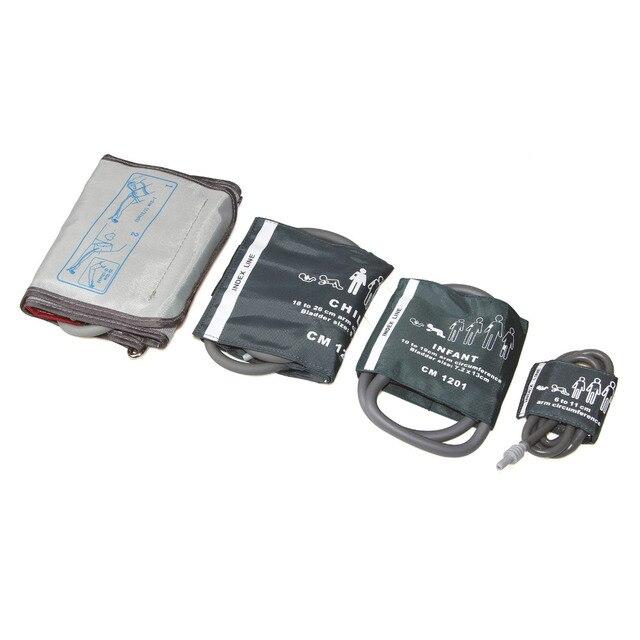 Contec Digital Blood Pressure Monitor CONTEC08A+Neonatal/Infant/Child/Adult 4cuffs HOT SALE 4