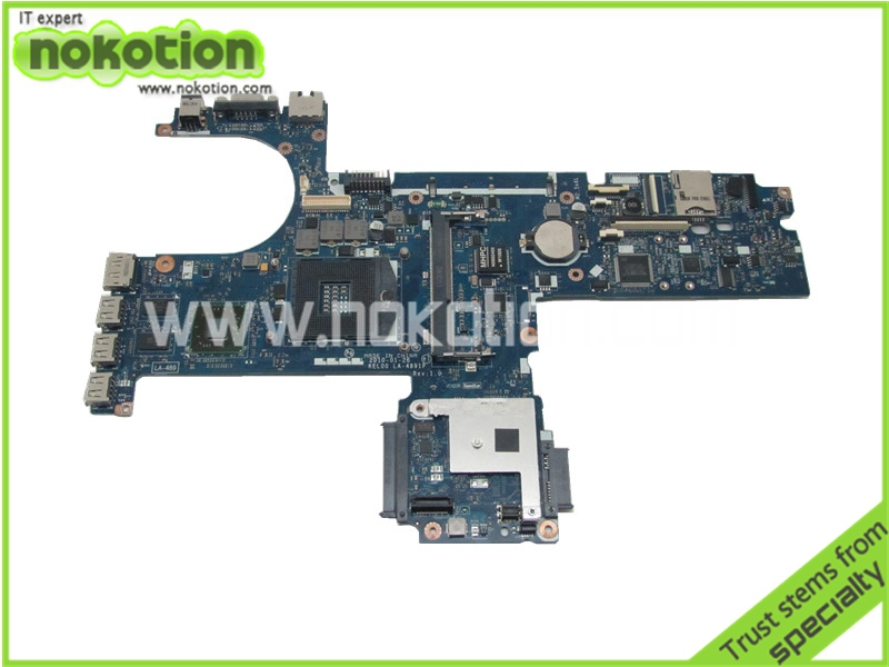 все цены на NOKOTION KEL00 LA-4891P 593839-001 for HP PROBOOK 6440B 6540B MOTHERBOARD HM57 ATI 216-0749001 DDR3 онлайн