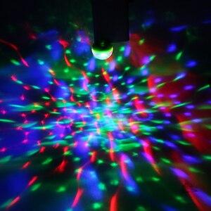 Image 5 - ITimo מיני USB LED שלב מנורת נייד כדור מנורות מסיבת קישוט צבעוני ניאון אור צבע שינוי דיסקו DJ שלב הדלקת