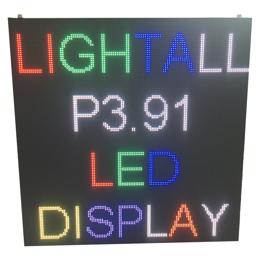 P3.91 SMD2121 Indoor 500×500mm 128*128pixels Die-casting Aluminum Cabinet RGB LED Display Screen For Stage Rental