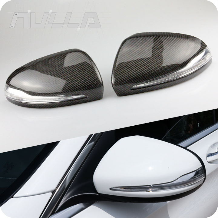 Carbon Fiber Mirror Replacement For Mercedes Benz AMG W222 W205 W213 X205 W238 C S Class GLC Mirror Cover LHD футболка print bar mercedes amg s 63 w222