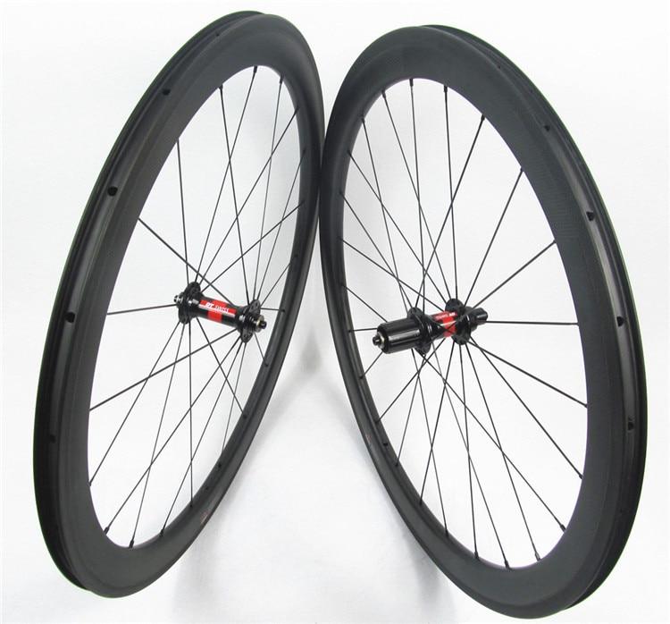 Farsports FSC50-CM-23 DT240(36 Ratchets) U shape Aerodynamic 50mm carbon clincher wheel,farsports 23mm wide bike clincher wheel