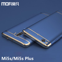 Mi 5s Plus Case Hard MOFi Xiaomi Mi 5s Plus Case Metal Back Cover Xiaomi Mi5s