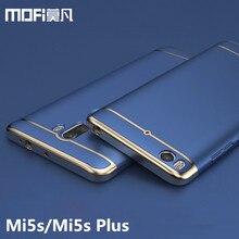 Xiaomi Mi 5S чехол Xiaomi Mi 5S задняя крышка Жесткий защитный Телефон САППУ MOFI оригинальный Xiaomi Mi 5S Plus Чехлы и охватывает