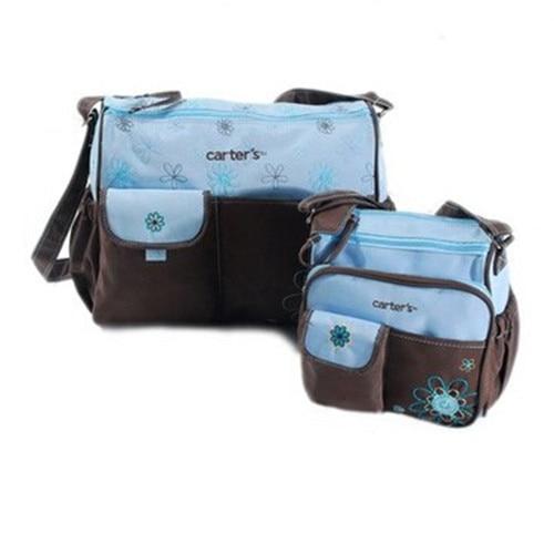 ФОТО Good Quality 2 pcs/set Bolsa Maternidade Diaper Baby Nappy Bag Mummy Maternity Bag Lady Handbag Messenger Bags Shoulder