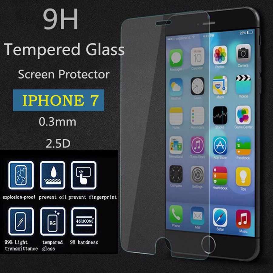 واقية الزجاج آيفون 6 حامي الشاشة لفون x الزجاج المقسى آيفون 7 زائد غطاء السينمائي ل فون 8 زائد 5 ثانية 4 ثانية
