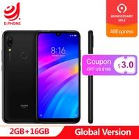 Global Version Original Xiaomi Redmi 7 2GB 16GB Snapdragon 632 Octa Core 4000mAh Battery 12MP 6.26 Full Screen Smartphone