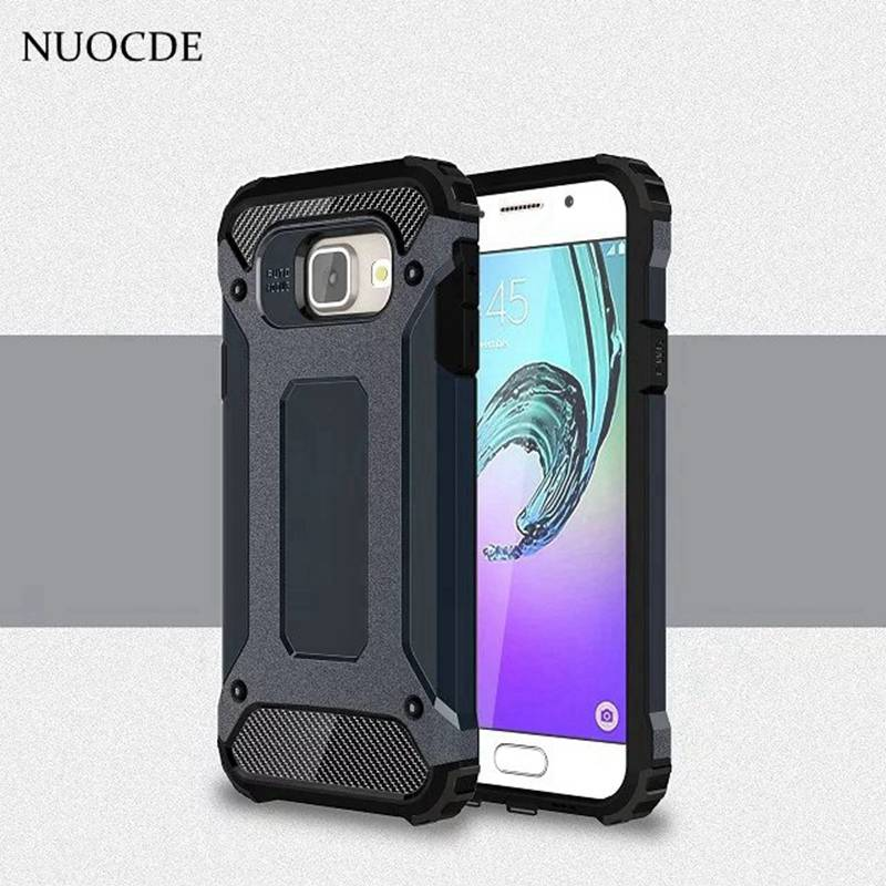 NUOCDE Hybrid Shockproof Slim Rubber Armor case for Samsung Galaxy S8 S7 S6 S5 J1 J2 J5 J7 A3 A5 A7 2016 2017 Prime Phone cover