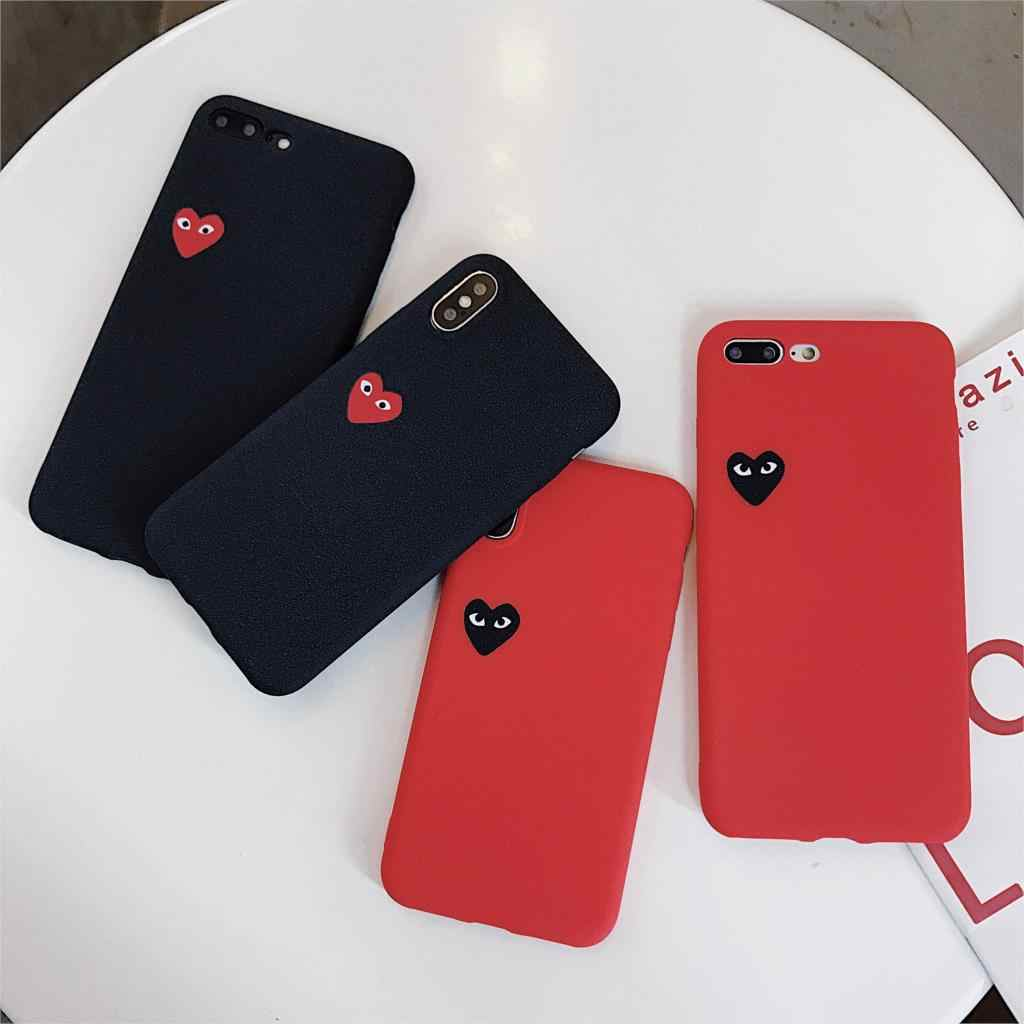 Comme Des Garcons Case For Iphone Xs Max Xr X 8 7 6 6s Plus