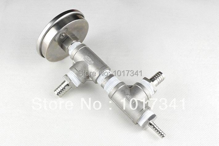 Inline-Oxygenierungsanordnung aus rostfreiem Stahl, Kegging Homebrew, - Küche, Essen und Bar - Foto 4