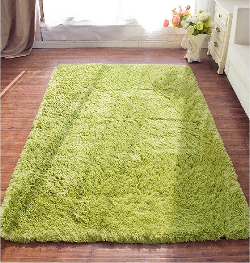 80 160cm large size plush shaggy soft carpet area rugs for Soft carpet for bedrooms