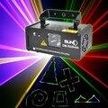 SUNY DMX512 Красочный Лазерная Освещение Сцены Сканер Аудио DJ Показать Света Дистанционного Проектор Эффект освещения Фантастические Дискотека Луч