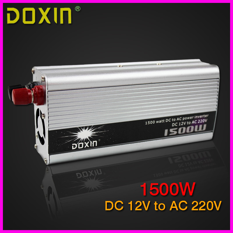 DOXIN 1500W Car Charger Converter DC 12V to AC 220V Car Power Inverter 12v Car Charger ST-N008 new acehe 1500w car dc 12v to ac 220v overload protection reverse polarity protection power inverter charger converter