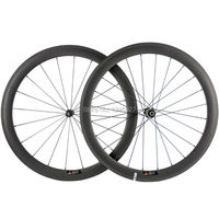 Hot Sale Clincher Carbon Wheels 50mm Road Bike Carbon Wheelset China With DT350 Hub Racing Bicycle Wheel Clincher