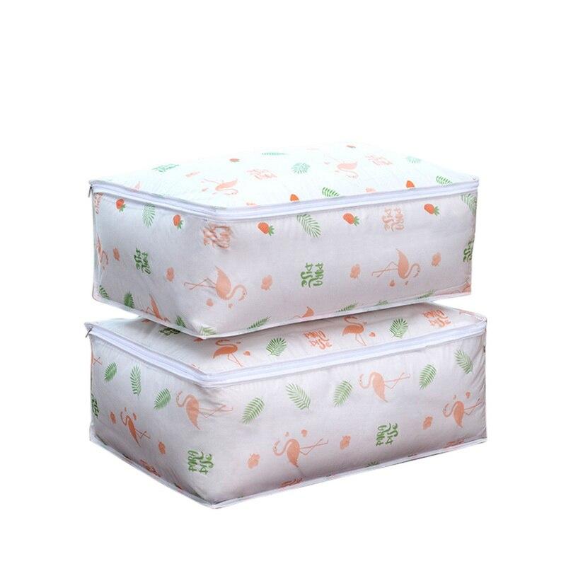 Моющаяся стеганая сумка для хранения, домашняя одежда, стеганая подушка, одеяло, сумка для хранения, дорожная сумка-Органайзер для багажа, влагостойкая сумка для хранения - Цвет: G178025A
