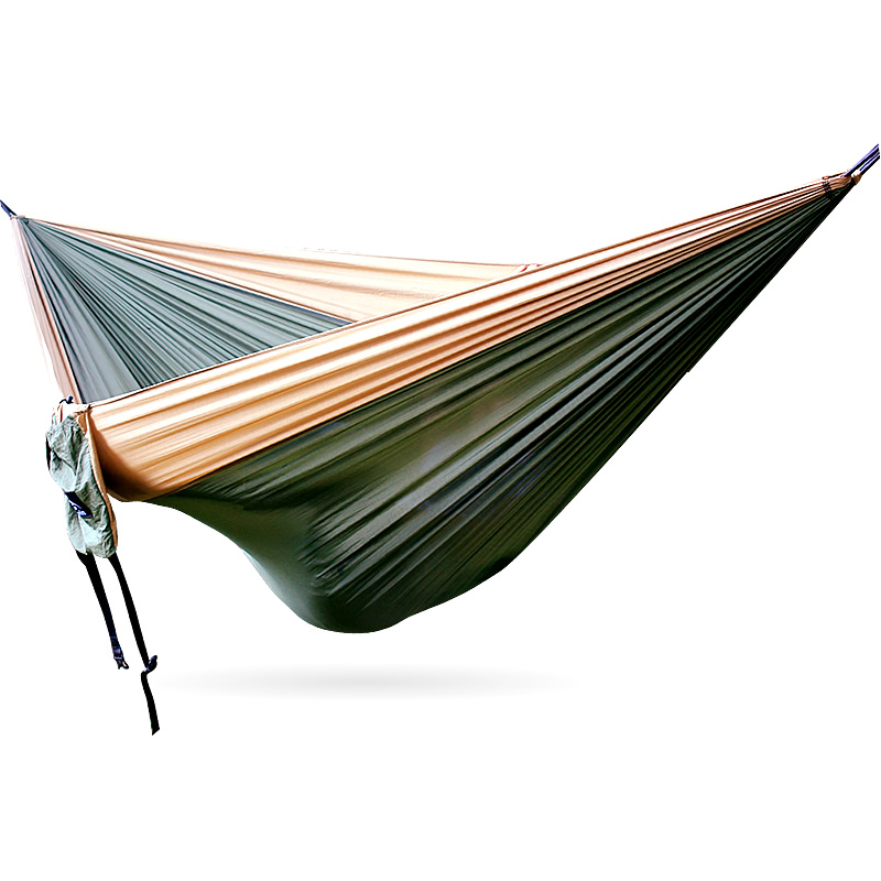 Outdoor King Size Camping Hammock Large 2-3 Person Parachute Double Portable Couple Nylon Hamak Travel Hunting Survival 320cm
