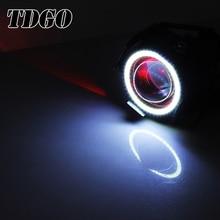 TDGO 3000LMW 12 v Levou Motocicleta Farol Lâmpadas Led de 125 w Lâmpada Auxiliar Duplo U7 Chip de Led Cree Condução Holofotes moto Luz
