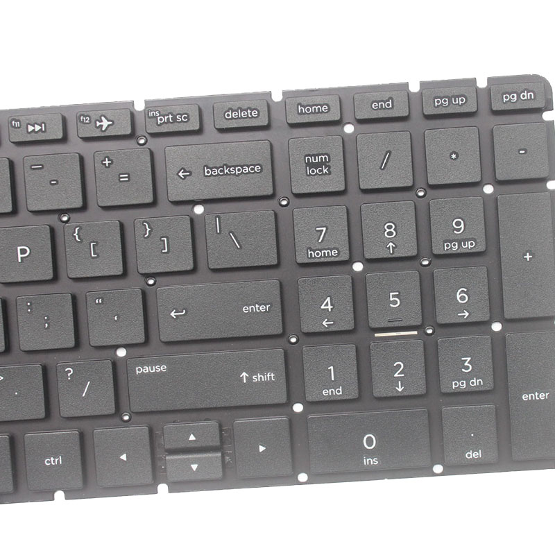 Image 3 - US laptop keyboard for HP 15 BS 250 G6 255 G6 256 G6(only keyboard) English keyboard-in Replacement Keyboards from Computer & Office on