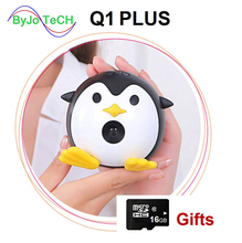 ByJoTeCH Q1+ wifi Mini Mobile Projector Handheld Micro DLP Home Theater Proyector Add 16G micro SD card gift UNIC Q1 PLUS