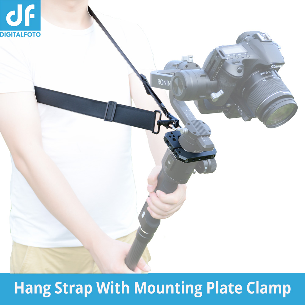Spider Hange Strap Shoulder Hang Buckle Hand Release Mounting Accessories Plate Clamp for DJI Ronin S Zhiyun Crane 2 Gimbal цена